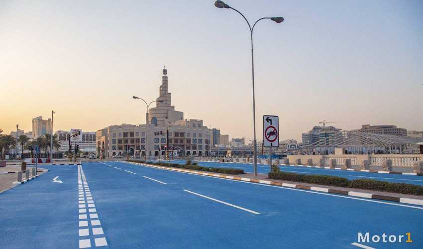 خیابانهای آبی قطر