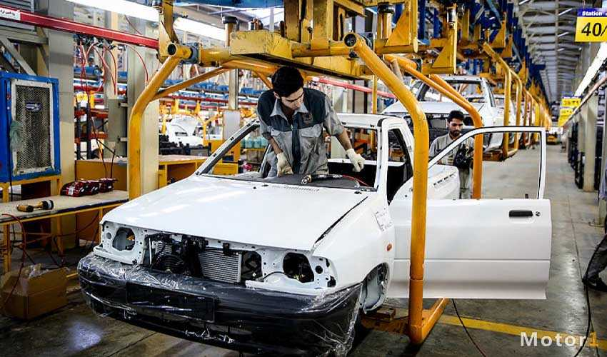 خارج شدن خودروهای فاقد استاندارد از خط تولید