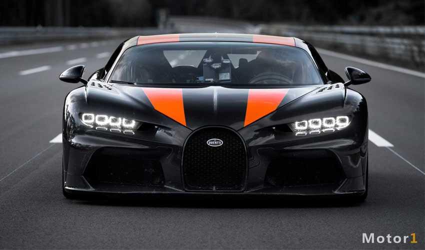 بوگاتی شیرون سریع ترین خودروی جهان شد؛ ۴۹۰ کیلومتربرساعت