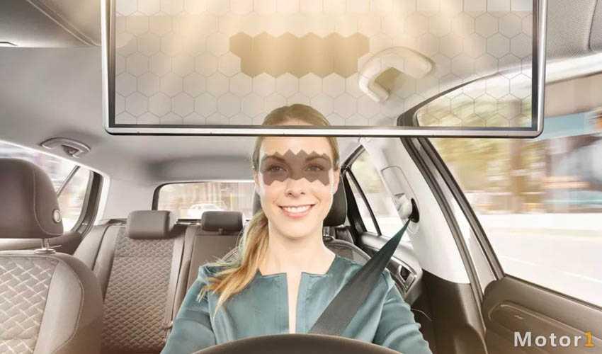 آفتابگیر خودرو که دید راننده را نمی گیرد