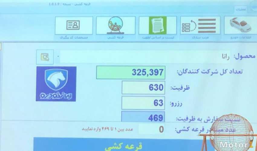 لیست برنده های قرعه کشی ایران خودرو