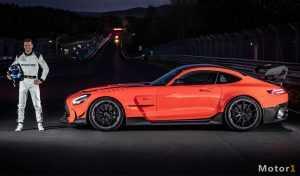 مرسدس AMG GT سری سیاه 2021