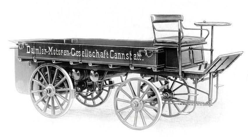اولین کامیون در دنیا