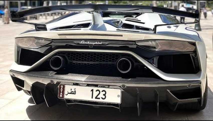 گران ترین پلاک خودرو جهان ؛ پلاک 123 قطر با قیمت ۱۲ میلیون دلار